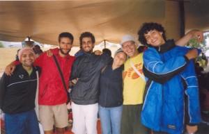 Despedida do FSM 2005 e começo do trecho de Porto Alegre até Montevideo