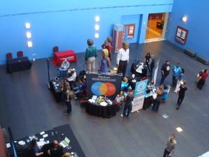 Saguão de entrada do WordCamp San Francisco 2013