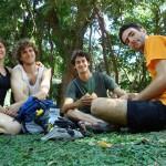 Num parque em Buenos Aires