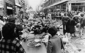 Die-in em Montreal em 1976